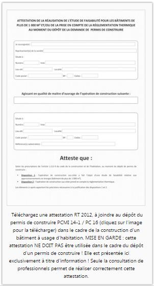 Attestations Rt 2012 Tout Savoir Sur La Reglementation Et L Urbanisme
