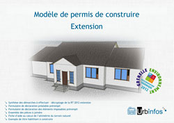 Exemple permis de construire extension